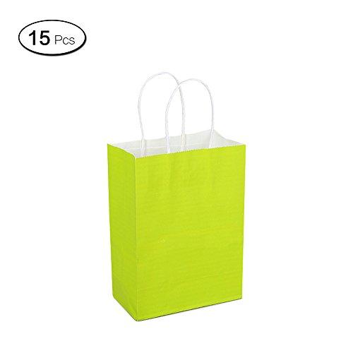 erwendbare Beutel mit Griffen Aufbewahrung mit großen Taschen für Kleidung, Schuhe zum Geburtstag Party 25*11*36cm grün (Grünen Tuch Elf Schuhe)