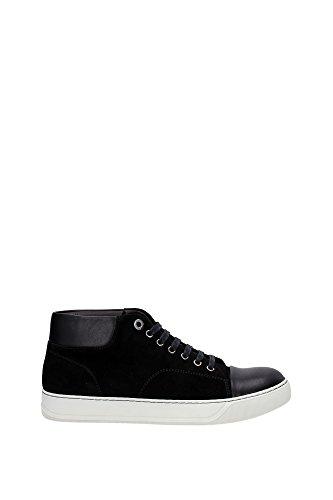 Sneakers Lanvin Uomo Camoscio Nero FMSKDBM1VVELA1510 Nero 39EU