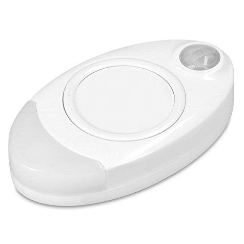 Navaris Luce LED portatile con sensore movimento PIR - Luce per borsetta tascabile ricaricabile - Lucina per borsa con timer e batterie