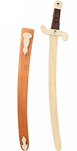 Cooles Ritterschwert Spielzeug-Waffe Kinder 60cm für Kostüm Silber -