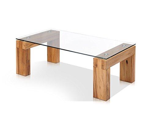 moebel-eins MOSKAU Couchtisch Wohnzimmertisch Tisch Holztisch Sofatisch Beistelltisch Kaffeetisch, Kernbuche geölt