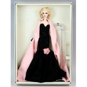 Barbie N6603 - Muñeca Barbie de coleccionista con vestido vintage años 60