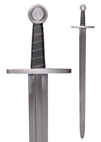 Schwert mit Scheide für Schaukampf, SK-C von Battle-Merchant - Echt Metall Hochmittelalter