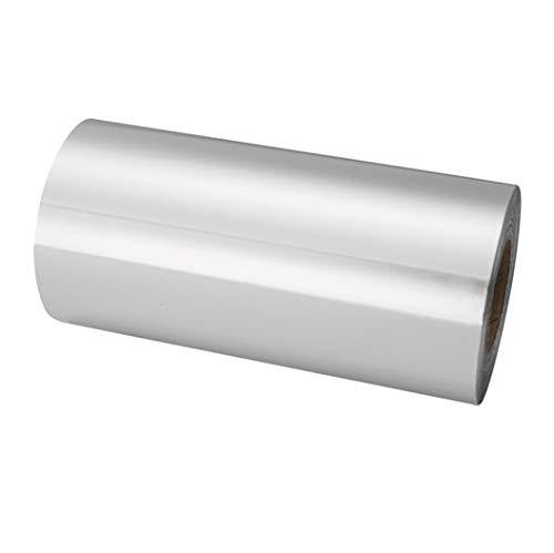 Papel de Aluminio Para Mechas Uso Profesional Con Dispensador 12cm x 70 Mts (PLATA)