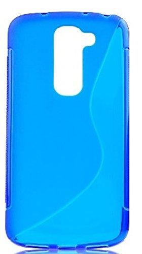 Case Lg G2 Gummi (tag-24 TPU Schutzhülle passend für LG G2 mini Gummihülle Silicon Backcase Silikon Handytasche S-line Case Rückschale blau)