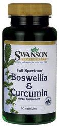 Swanson Full Spectrum Boswellia & Curcumin (300mg, 60 Capsules)