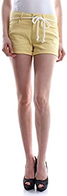 Only Onlclaudia Reg Belt Shorts Pnt, Pantalones Cortos para Mujer