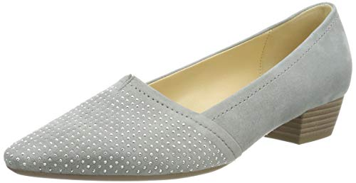 Gabor Shoes Damen Basic Pumps, Grau 19, 35.5 EU -