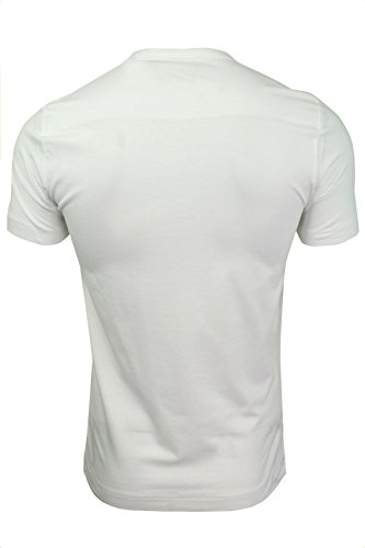 French Connection Classic Crew-T-Shirt Uomo Bianco