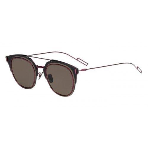 Dior Homme Für Mann Dior Composit 1.0 Plum / Brown, Antireflective Metallgestell Sonnenbrillen