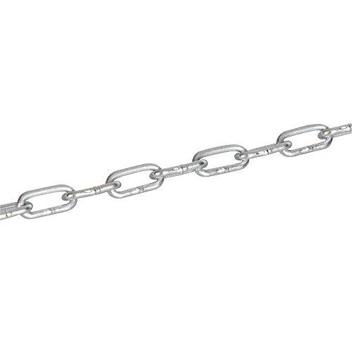 Fixman 558791 catena elettro galvanizzata, argento, 2 mm x 2.5 m