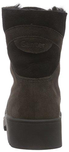 Ganter - Ellen-stiefel, Weite G, Stivaletti Donna Marrone (Grau (antrazit / schwarz 6201))