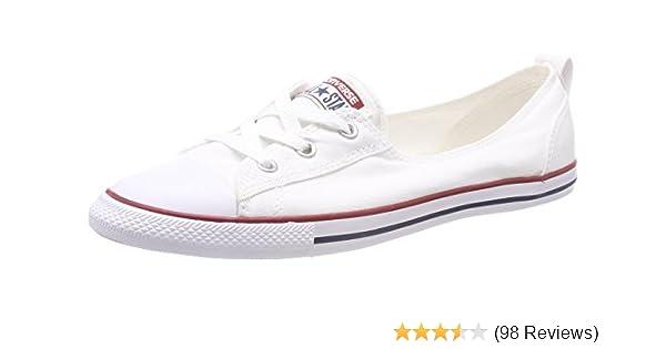 e4c763f90bd4 Converse Women s Chuck Taylor Ballet Lace Low-Top Slippers  Amazon.co.uk   Shoes   Bags