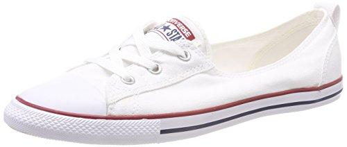 Converse Chuck Taylor - Pantofole da donna, Bianco (Blanc - Optical White Exclusive), 8.5 UK
