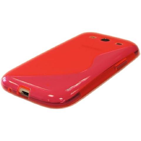 aS-Line Design custodia guscio in silicone per Samsung Galaxy S3