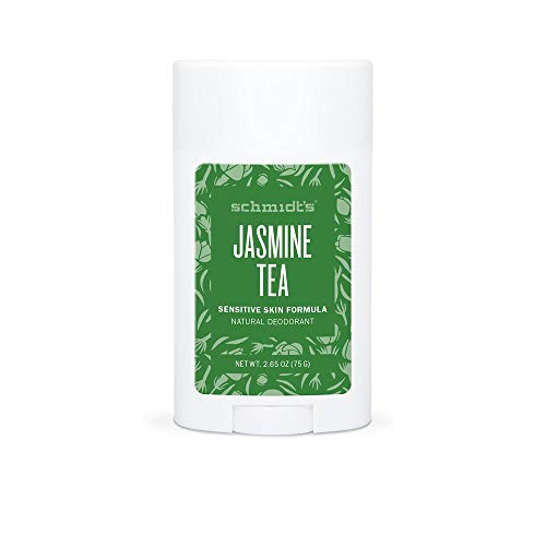 Schmidt's - Deodorante stick Vegan Thé al gelsomino, 75 g, set di 4