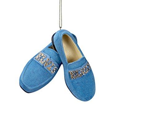 Elvis Presley Blue Suede Shoes CHRISTMAS ORNAMENT New by Kurt Adler -