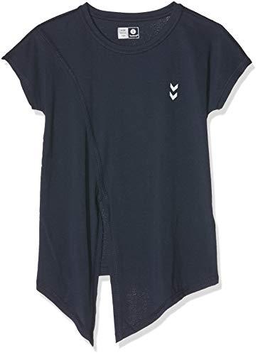Hummel Mädchen HMLANGEL T-Shirt S/S, Total Eclipse, 140