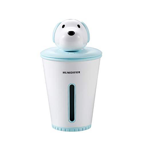 UJUNAOR Nachtlicht Luftbefeuchter Kind Nachttischlampe Baby Kinder Nachtleuchte LED Nachtlampe Schlummerlicht Stimmungslicht USB Batterie(Blau,One size)