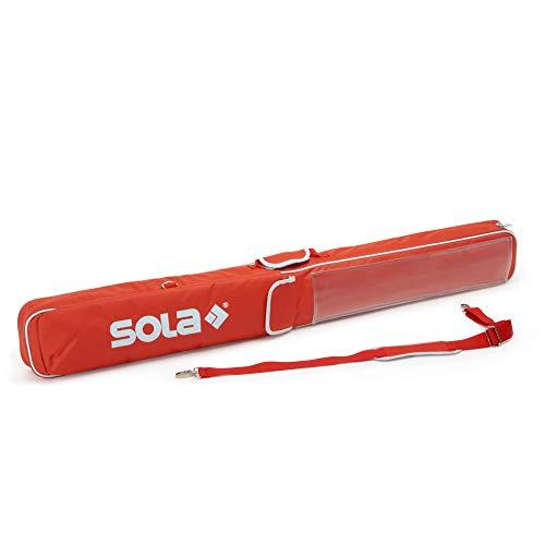 Wasserwaage 180 cm Schutztasche   Gepolsterte Tasche für Wasserwaagen bis 180 cm   Mit Außenfach für Zubehör und praktischen Tragegriff