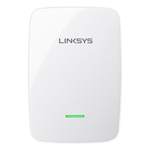 Linksys RE4100W-EU - Extensor de alcance inalámbrico de doble banda N600 (Spot finder, 2,4 + 5 GHz, Cross-band, 1 puerto Fast Ethernet, Audio por Wi-Fi), blanco
