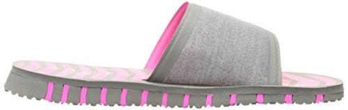 Skechers prestazioni Go Flex Rely Sandalo Gray/Hot Pink