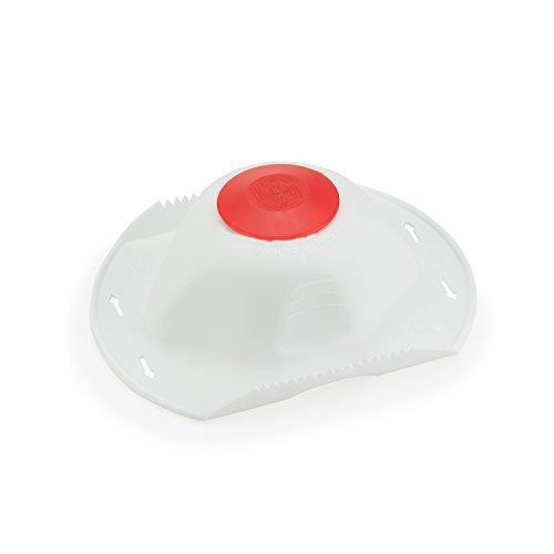 Börner original Sicherheitsfruchthalter für Hobel und Reibe (weiß/rot FH29001) - Klingen Borner