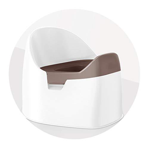Bathroom mat Urinal Training for Bambini Vasino, Bambini di 1-6 Anni Si Applica Ecologico Materiale PP Comodo Davanti Schienale Alto Convesso Disegno Orinatoio, 3 Colori (Color : White)