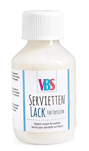 VBS Serviettenlack Serviettenkleber für Textilien