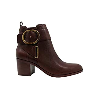 DKNY Womens Telo Ankle Boot W Leather Round Toe Ankle Fashion Boots