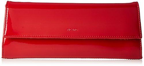 Picard Damen AUGURI Clutches, rot-Lack), 26x11x3 cm