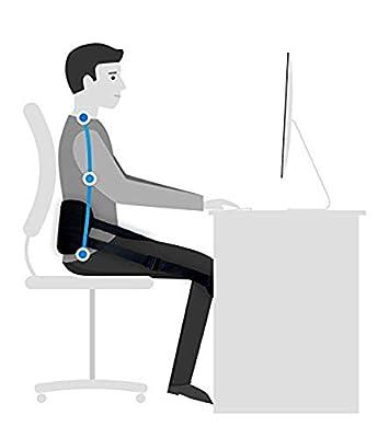 ZSZBACE Rückenstützgürtel: Rückengurt, Geradehalter, Rückentrainer, Yoga-Gurt, Lendenstütze - zur Linderung von Rückenschmerzen und Entwicklung Einer gesunden Körperhaltung