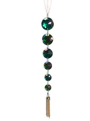 allstate-regal-peacock-iridescent-green-jewel-pendant-christmas-ornament-7-by-allstate