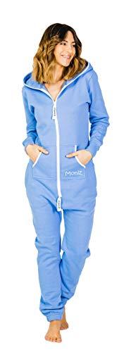 Moniz Damen Jumpsuit, graublau, Größe -