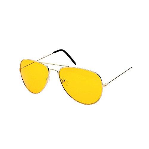 YWLINK Nachtsicht Sonnenbrillen UV400 GläSer Mode Klassisch Damen Polarisierte Sonnenbrille Strand Urlaub Retro Multicolor Brille