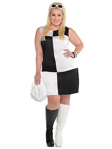 Mod Girl Costume de taille Plus–Adulte