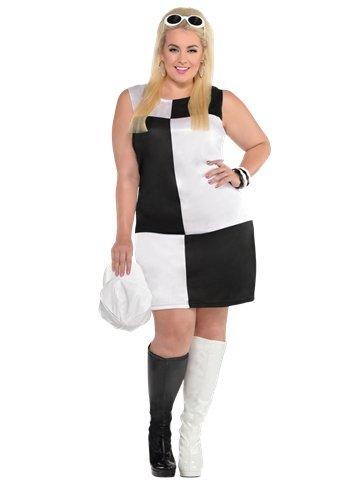Dorothy Erwachsene Kostüme Plus (MOD GIRL PLUS Größe–Erwachsene)