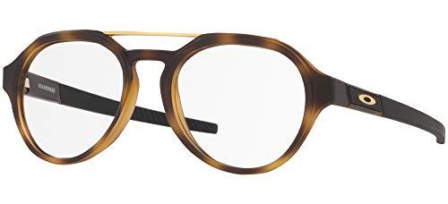 Ray-Ban Herren 0OX8151 Brillengestelle, Grau (Satin Brown Tortoise), 51