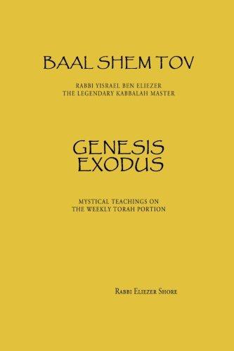 Baal Shem Tov Genesis Exodus: Volume 1