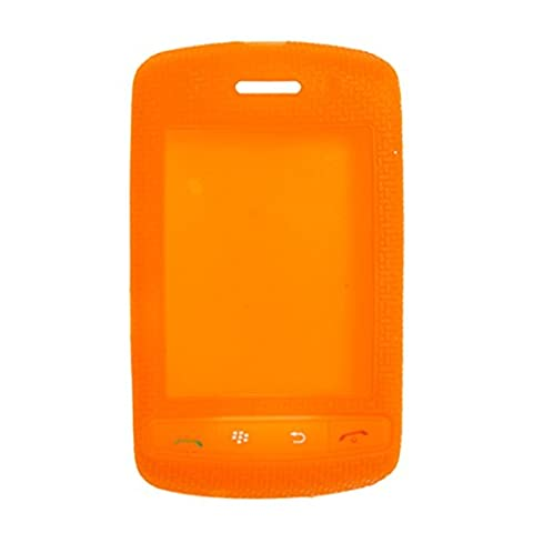 Orange Skidproof Silikon-Haut-Abdeckung für Blackberry 9500 9530