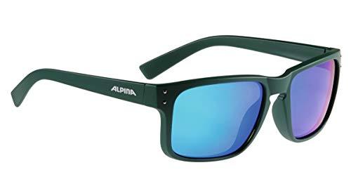 ALPINA Erwachsene Big Horn MM Skibrille, Green matt, One Size