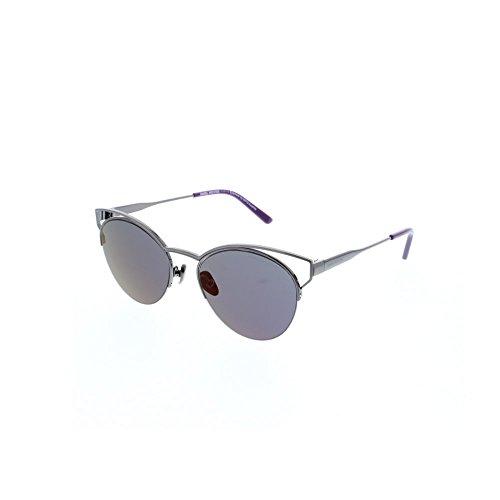 Daniel Hechter DHS142 - Sonnenbrille, dark gun, smoke with purple revo / 0 Dioptrien