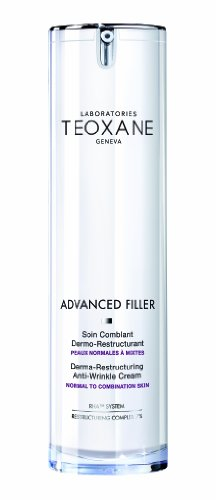 New Formula Advanced Filler Derma-Restructuring Anti-Wrinkle Cream for Normal to Mixed Skin by Teoxane