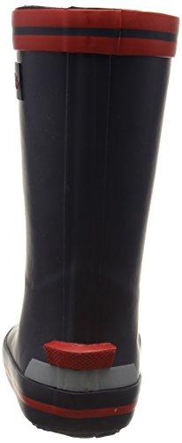 Naturino Naturino Rain Boot., Bottes en caoutchouc de hauteur moyenne, doublure froide mixte enfant Bleu - Blau (GOMMA BLEU-ROSSO)