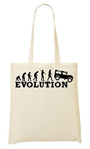 ToteWorld Evolution Jeep Tragetasche Einkaufstasche