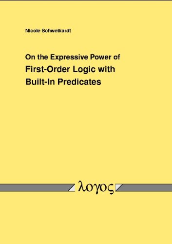 On the Expressive Power of First-Order Logic with Built-In Predicates