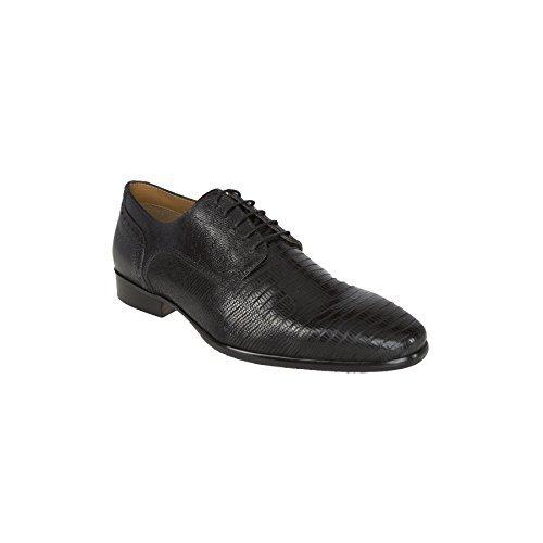 19V69 Versace 1969 Leder-Business-Schuhe V47 (Modell: C144 - Herren, schwarz; Größe: 43) FBA