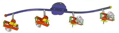 Deckenspot Deckenstrahler Kinderzimmer Spot Kinder Flieger Globo Pilot 5716-4 von Globo bei Lampenhans.de