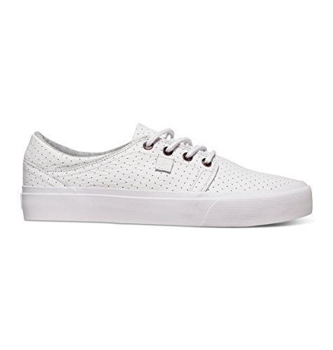 DC Shoes Trase LX - Chaussures basses pour homme ADYS300141 Blanc - White/Armor