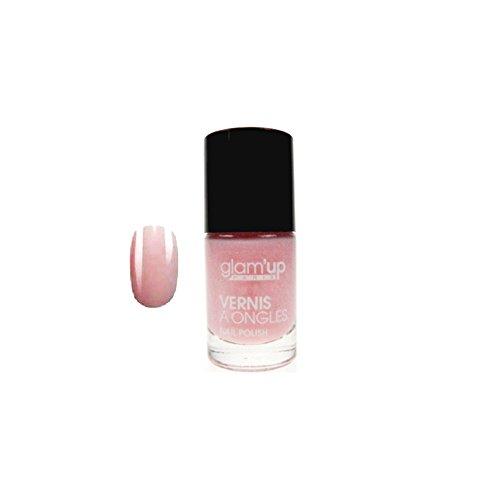 GLAM UP - Vernis à ongles - Beige Rosé Naturel - Fabrication Européenne
